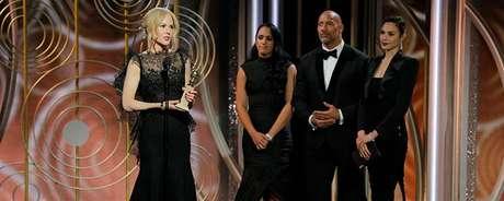 Nicole Kidman discursa no Globo de Ouro