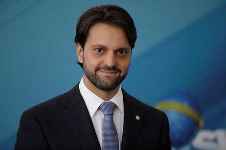 Ex-ministro das Cidades, Alexandre Baldy, durante cerimônia no Palácio do Planalto 22/12/2017 REUTERS/Ueslei Marcelino