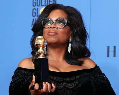 Oprah Winfrey fez discurso impactante no Globo de Ouro
