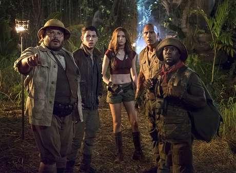 """""""Jumanji: Bem-Vindo à Selva"""" foi a maior estreia da semana, superando """"Viva - A Vida é Uma Festa"""""""