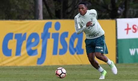 Yerry Mina jogará no Barcelona após um ano e meio no Palmeiras - FOTO: Cesar Greco