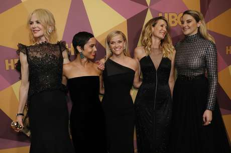 Nicole Kidman, Zoe Kravitz, Reese Witherspoon, Laura Dern e Shailene Woodley