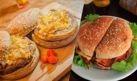 Os lanches veganos da hamburgueria Animal Chef