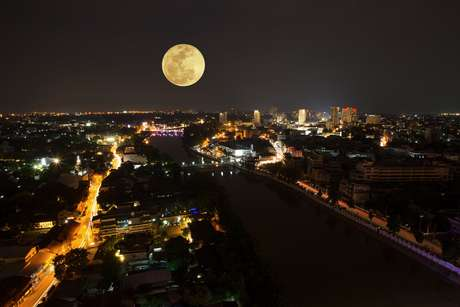 Superlua será vista na noite do dia 31 de janeiro