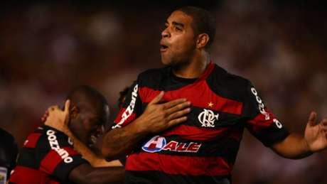 Adriano é ídolo no Flamengo