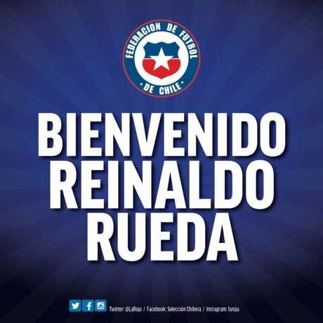 Chile anuncia Rueda (Twitter)