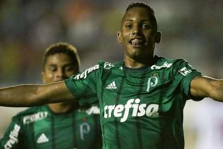 Fernando chegou a três gols na Copinha - FOTO: Agência Palmeiras