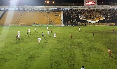 Peixe vence o Grêmio Novorizontino e lidera o grupo 4 (Foto: Divulgação)