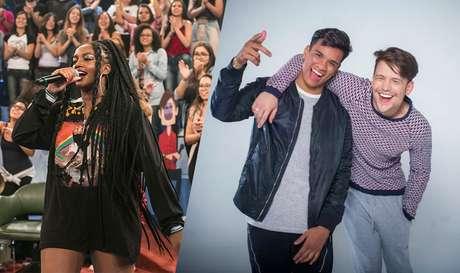 A cantora Iza e a dupla Um44k devem bombar em 2018