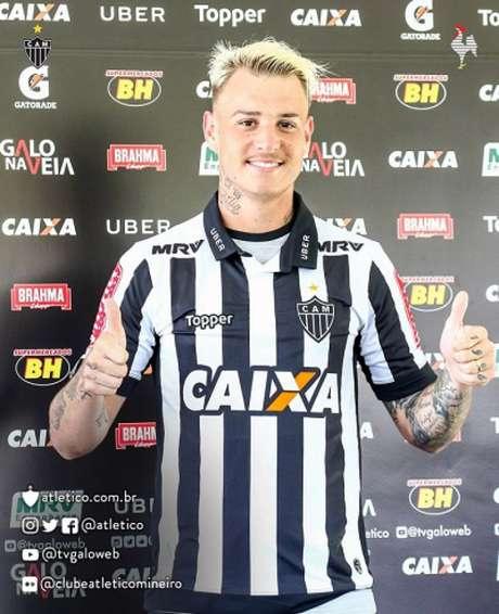 Róger Guedes minimiza atrito com Felipe Melo no Palmeiras (Reprodução / Twitter)