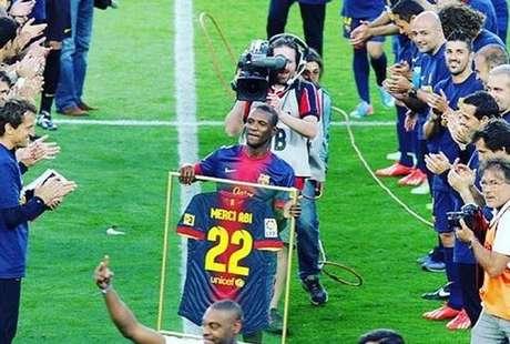 Abidal, Messi e o vídeo que deu polémica: o esclarecimento