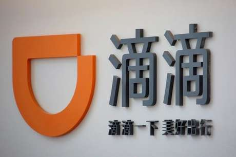 Logo da Didi Chuxing na sede da empresa em Pequim, China 18/05/2016 REUTERS/Kim Kyung-Hoon/File Photo