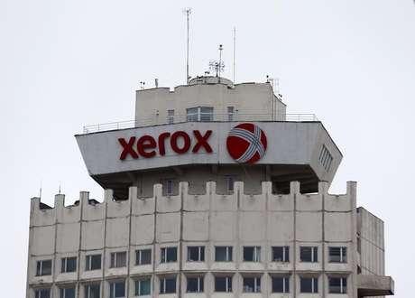 Logo da Xerox em prédio de Minsk, Belarus 21/03/2016 REUTERS/Vasily Fedosenko
