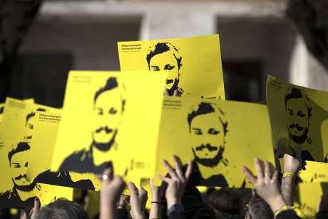 Protesto em Roma cobra solução do caso Giulio Regeni