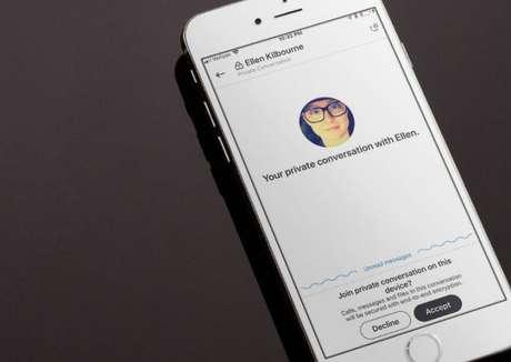 """Recursos de """"conversas privadas"""" no Skype (Imagem: Signal)"""