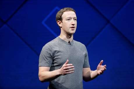 Presidente-executivo do Facebook, Mark Zuckerberg, durante conferência na Califórnia 18/04/2017 REUTERS/Stephen Lam