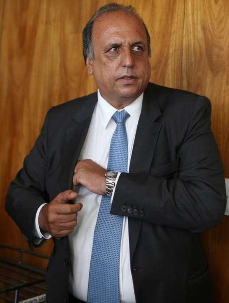 Governador do Rio de Janeiro, Luiz Fernando Pezão, durante reunião em Brasília 13/02/2017 REUTERS/Adriano Machado