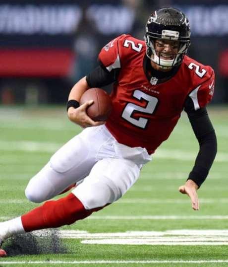 Equilíbrio será a tônica de Eagles e o Falcons de Matt Ryan (AFP)