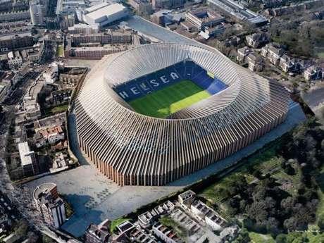 Projeto do novo Stamford Bridge custaria cerca de R$ 4,3 bilhões (Foto: Divulgação)