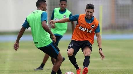 O atacante Rodrigo Pimpão deverá começar como titular neste Campeonato Carioca (Vitor Silva/SSPress/Botafogo)