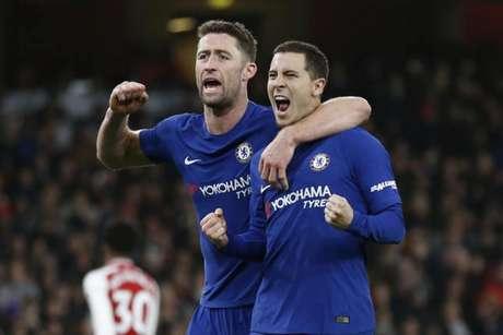 Hazard tem contrato até 2020 com o Chelsea (Foto: Ian Kington / AFP)