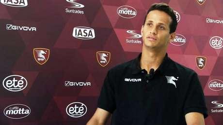 Luiz Felipe Ramos atuou emprestado à Salernitana na última temporada (Foto: Reprodução / Youtube)