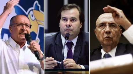 Governador de São Paulo, presidente da Câmara dos Deputados e ministro da Fazenda são nomes cogitados para as próximas eleições | Fotos: Reuters/Câmara dos Deputados