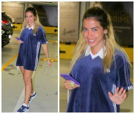 Anitta de cara lavada (Foto: Daniel Delmiro/AgNews)