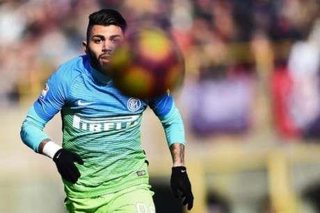 Gabigol está emprestado pela Inter ao Benfica