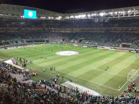 Allianz Parque receberá o primeiro jogo oficial do Palmeiras em 2018 (Foto: Thiago Ferri)