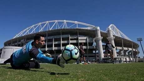 Titular durante o ano passado, Gatito Fernández deve começar na reserva em 2018 (Vitor Silva/SSPress/Botafogo)