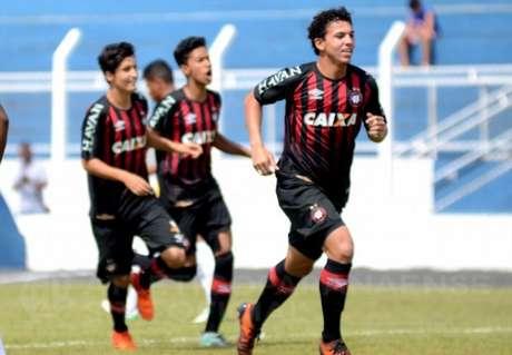 Na manhã deste sábado, o Atlético-PR bateu o Criciúma na Copinha (Foto: Cahuê Miranda/ Site oficial)