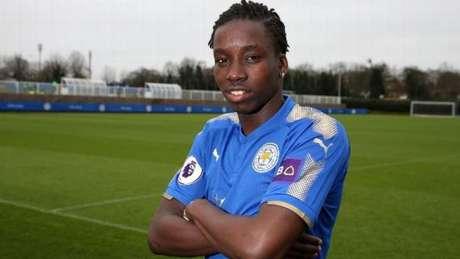 Fousseni Diabaté foi anunciado pelo Leicester (Foto: Divulgação)