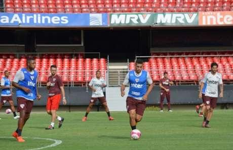 Diego Souza foi ao Morumbi pela primeira vez como jogador do São Paulo