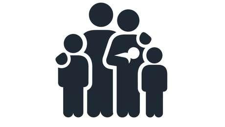 Ilustração de família