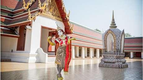 Minori foi convidada a visitar diversos países, incluindo a Tailândia, para mostrar sua arte | Foto: Teppei Takazawa / Minori