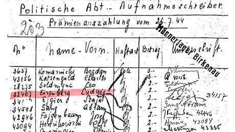 Documento que indicam que Sokolov trabalhou para a SS | Foto: Heather Morris/Gary Sokolov