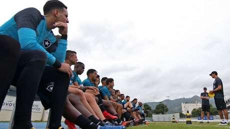 O Botafogo de Felipe Conceição sabe no que tem que ser diferente do de Jair Ventura (Vitor Silva/SSPress/Botafogo)