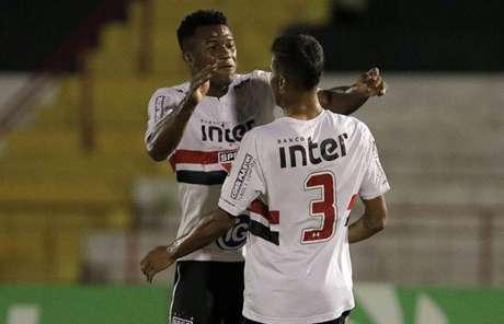 Fabinho fez o gol da classificação do São Paulo para as oitavas de final da Copinha (Célio Messias/saopaulofc.net)