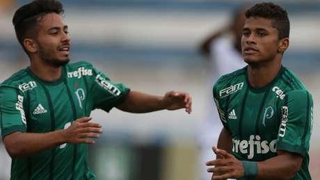 Alan Guimarães e Yan se destacaram neste domingo - FOTO: Agência Palmeiras