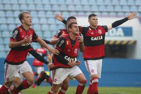 Fla venceu por 1 a 0 e está nas oitavas (Staff/Flamengo)