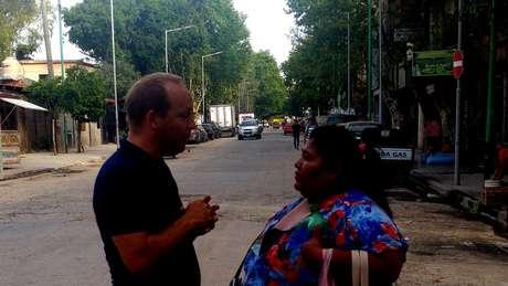 Diego Fernández diz que objetivo do projeto é integrar a favela à cidade