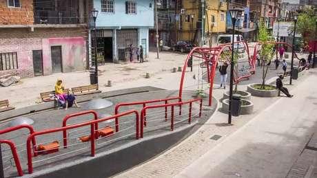 Ilustração do projeto de urbanização: críticos temem gentrificação do espaço | Foto: Reprodução/Prefeitura de Buenos Aires