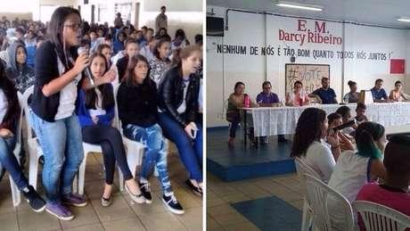 Escola passou a realizar assembleias para dar voz às insatisfações dos estudantes | Foto: arquivo pessoal