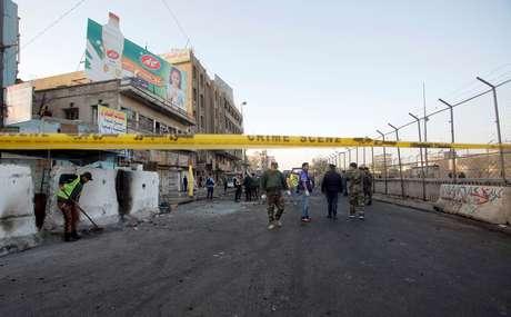 Pelo menos 65 pessoas ficaram feridas no ataque de hoje no Iraque