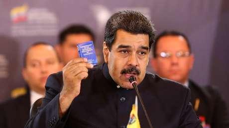 "Nicolás Maduro ordenou ""tolerância zero"" contra os ""terroristas"""