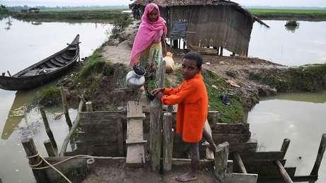 Mais de 740 mil rohingyas de Mianmar buscaram refúgio em Bangladesh