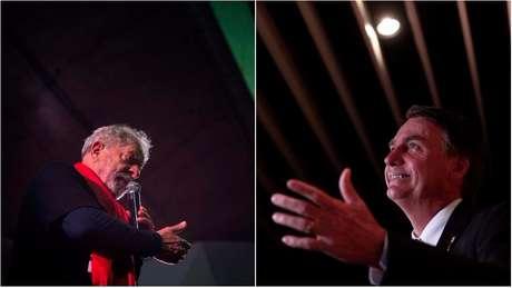 Em artigo, Sérgio Fausto argumentou que Lula e Bolsonaro apresentam 'falsas narrativas' como estratégia eleitoral | Fotos: AFP/Reuters