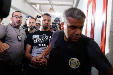 Rogério Avelino de Souza, o Rogério 157, após prisão no Rio