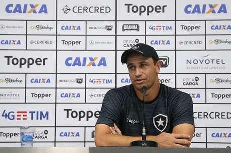 Felipe Conceição valorizou os 45 minutos iniciais do Botafogo (Foto: Vítor Silva/SSPress/Botafogo)